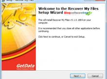 phần mềm Recovery 1